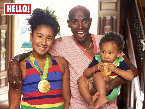 Mo Farah: Being knighted 'might get me through passport control quicker'