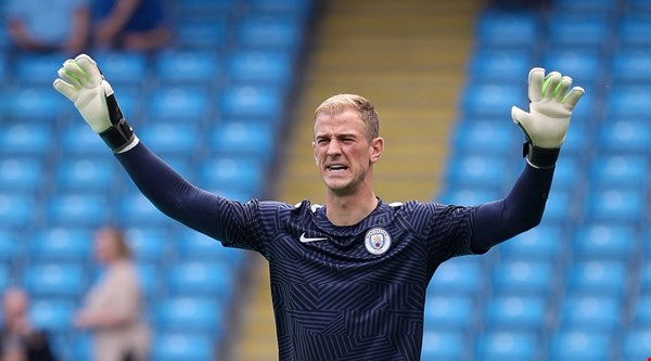 People can't get over the fact Joe Hart's name is actually Charles
