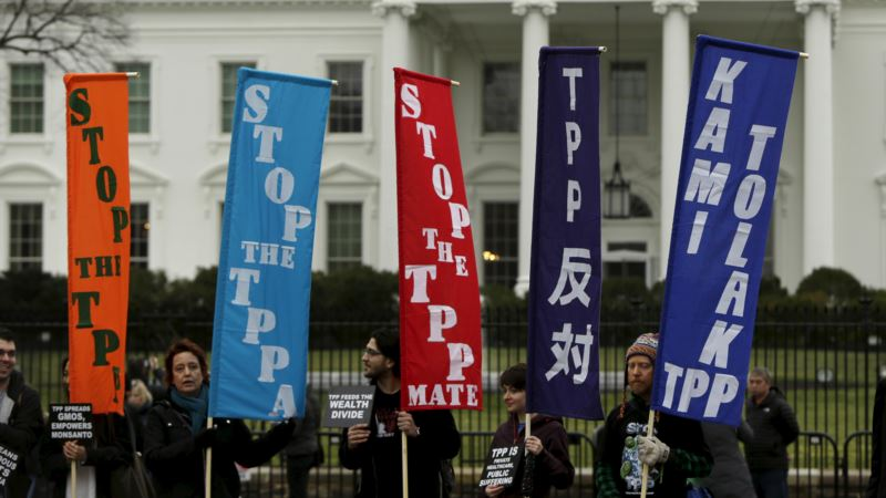 In Asia, Obama Faces Trade Pact Test Amid US Opposition