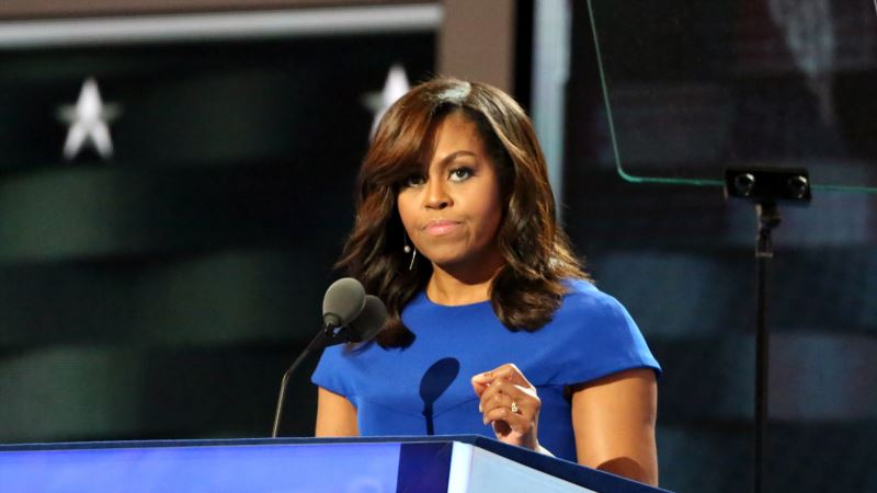 Michelle Obama Passport Image Posted Online