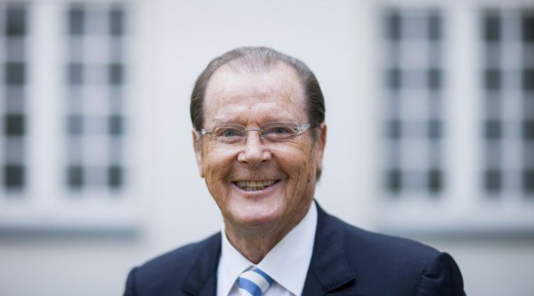 Bond star Roger Moore pays 80th anniversary tribute to Pinewood Studios