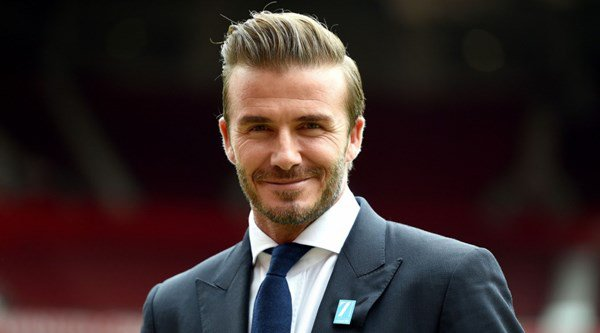 David Beckham takes 22 Push-Up Challenge at 44,000ft – without even breaking a sweat