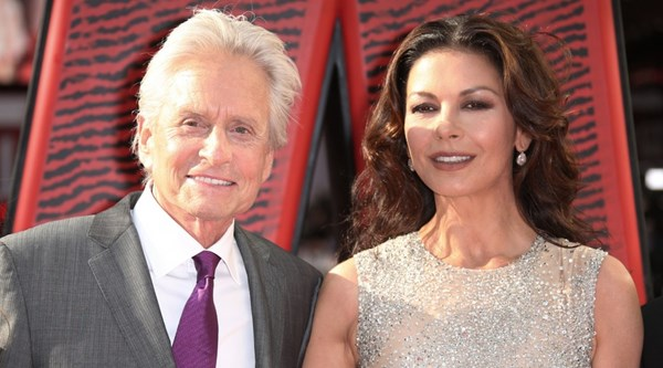 Catherine Zeta-Jones posts sweet picture on her and husband Michael Douglas's shared birthday