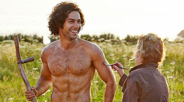 Phew! All is right with the world as Poldark bares his chest again