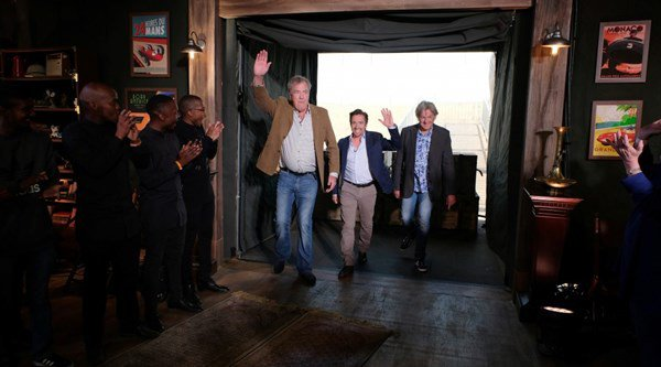 Top Gear trio back on the box as The Grand Tour gets November release date