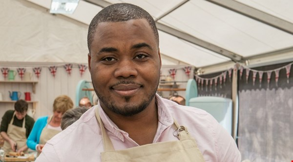 Selasi's army of admirers is growing by the minute on The Great British Bake Off