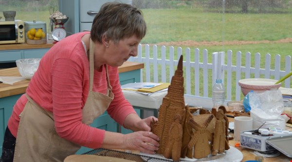 Val had an absolute 'mare on Great British Bake Off and it was giving viewers palpitations