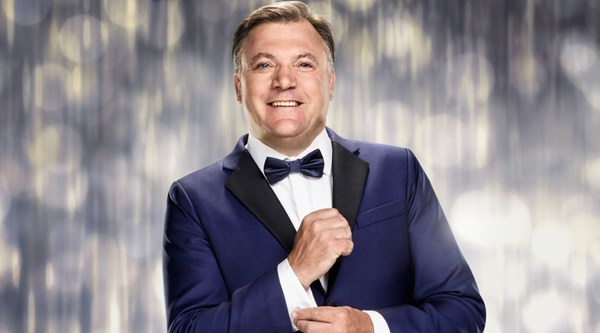 Ed Balls red-faced after 'fluffing' his lines