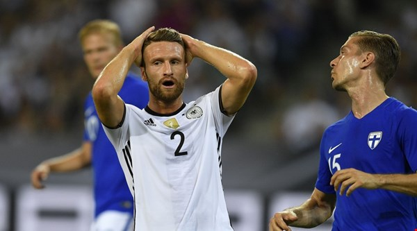 Shkodran Mustafi gives Arsenal fans an injury scare just a day after joining the club