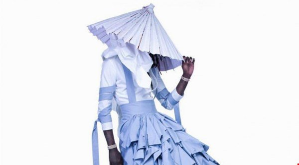See the exact moment Young Thug chose the dress for his Jeffery mixtape cover