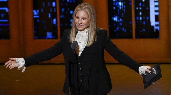 Barbra Streisand keeps Britney Spears off the top of the album charts