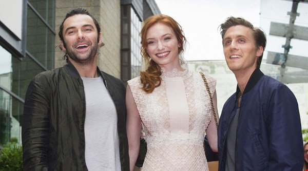 Poldark stars meets fans at special screening in Cornwall