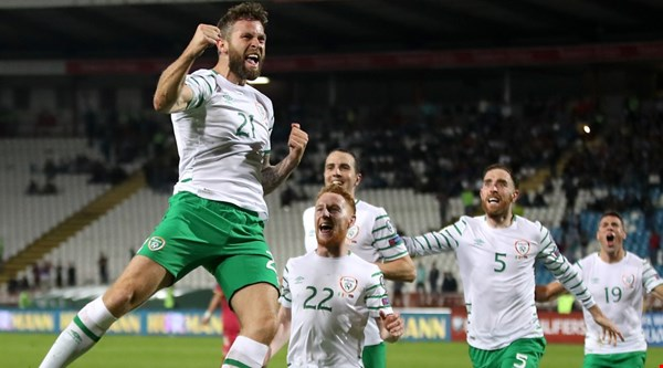 Daryl Murphy became an unexpected favourite after scoring a late equaliser against Serbia