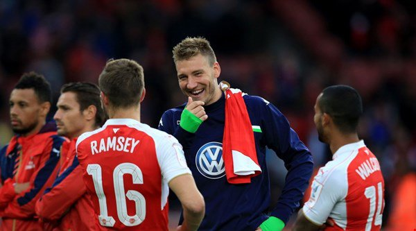 Could Nicklas Bendtner knock Arsenal out of the League Cup in two weeks' time?
