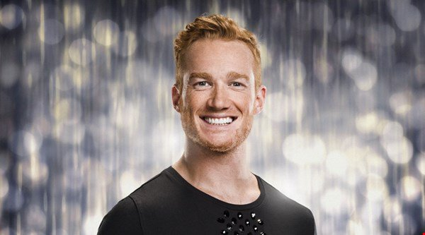 Greg Rutherford starts Strictly training with a surprise drugs test