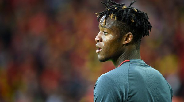 Chelsea striker Michy Batshuayi's NSFW verdict after missing a penalty for Belgium is the best thing on Twitter today
