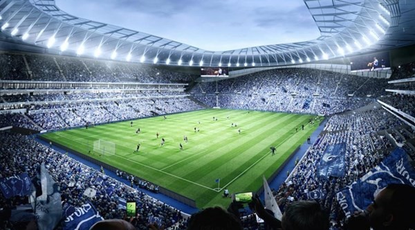 Tottenham's new stadium could host Premier League and NFL games on the same day