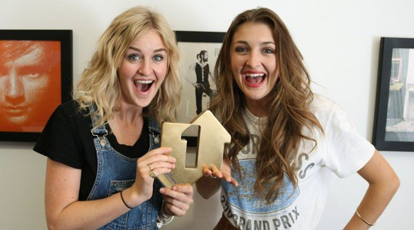 Twin sisters Ward Thomas become first UK country act to get a No 1 album