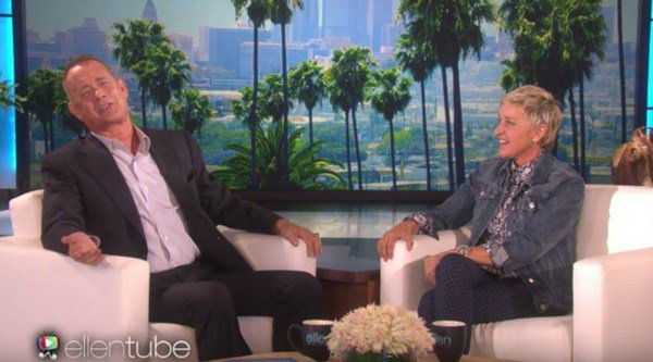Watch Tom Hanks and Ellen DeGeneres have an amazing voice-off between Woody and Dory