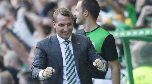 Fans think Celtic's Brendan Rodgers has lots to gloat about after a huge win in the Old Firm derby