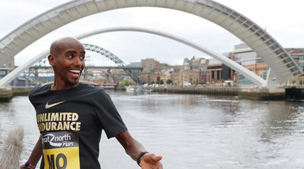 Mo Farah got arrested for speeding … sort of