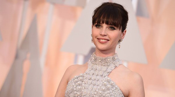 Felicity Jones had to avoid hitting the bottle over film role