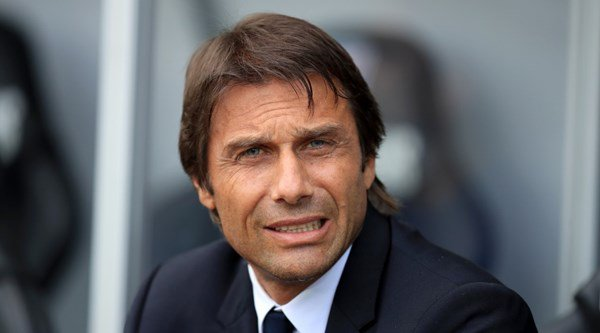 These pictures of Antonio Conte's face perfectly illustrate how mental Swansea v Chelsea was