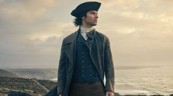 Prospect of Ross Poldark in the bath has viewers all flustered