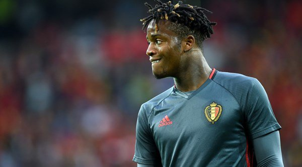 Michy Batshuayi is unimpressed with his Fifa 17 stats and he wants EA Sports to know about it