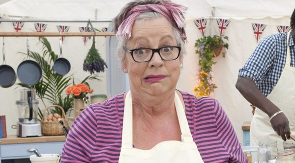 Could Jo Brand be the new host of The Great British Bake Off?