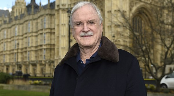 John Cleese got a standing ovation as he collected his Rose d'Or Lifetime Achievement award