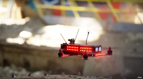Is live drone racing the next big TV sport? Sky thinks it might be…