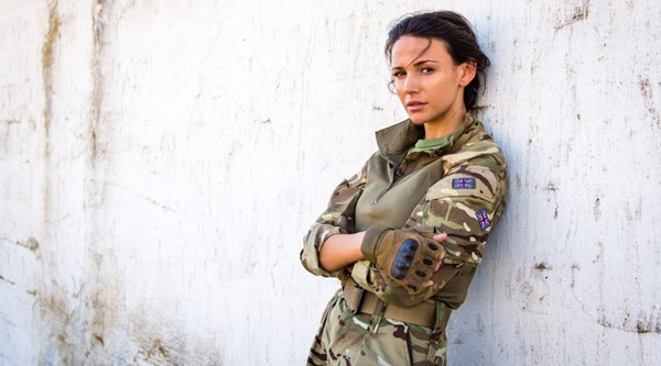 Georgie Lane may have been kidnapped but Michelle Keegan still looked flawless on Our Girl