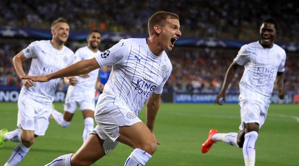 Leicester make the Champions League look easy with 3-0 win at Brugge