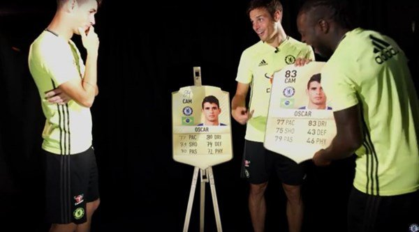 Chelsea players predicted one another's FIFA 17 ratings and no one was satisfied