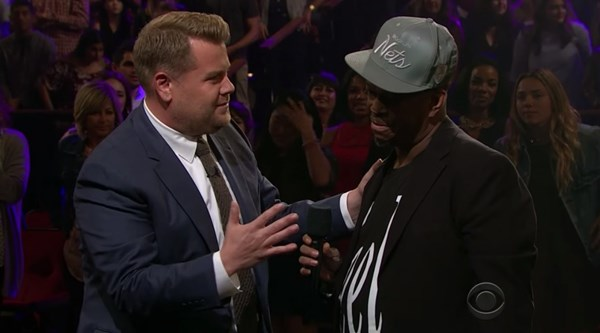 James Corden invited the subway singer who went viral to perform on The Late Late Show