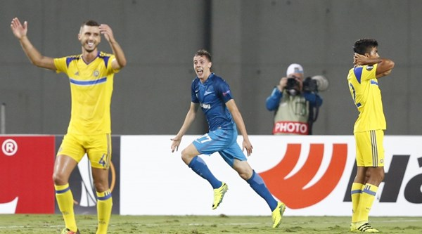 Zenit St Petersburg provided one of the all-time great comebacks from 3-0 down in the Europa League