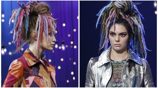 They look different! Kendall Jenner and Gigi Hadid try out funky new looks on the runway at NYFW