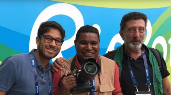 Meet Joao Maia, the visually impaired photographer breaking boundaries at the Paralympics