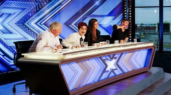Drama in the studio! Desperate X Factor contestant gatecrashes audition