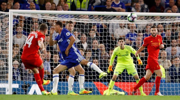 Jordan Henderson wowed people with a wonder goal to take Liverpool to victory against Chelsea