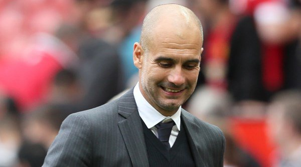 Pep Guardiola fired a very thinly-veiled shot at Manchester United