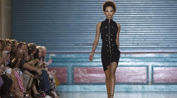 Celebs flock to Julien Macdonald's London Fashion Week show