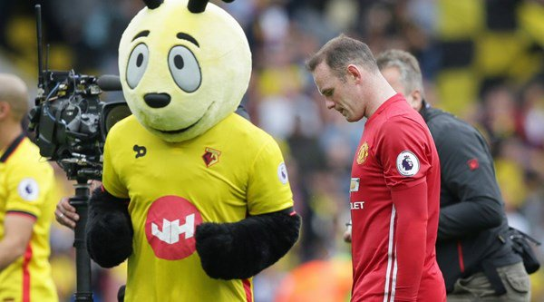 It looks like Man United fans have finally ran out of patience with Wayne Rooney