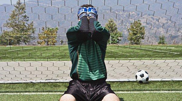 Goalkeeper arrested – after conceding 43 goals