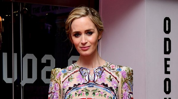 Emily Blunt steals the show in a kaleidoscope dress at world premiere of The Girl On The Train