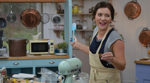 Candice just made everyone blush with her Great British Bake Off innuendo