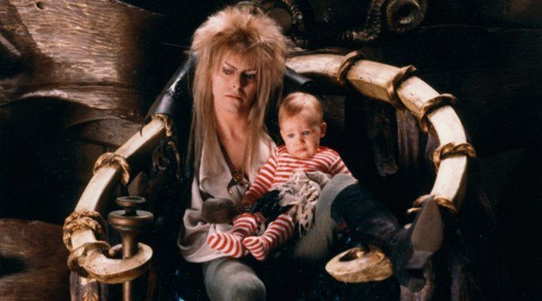 Labyrinth baby urinated all over David Bowie, admits father