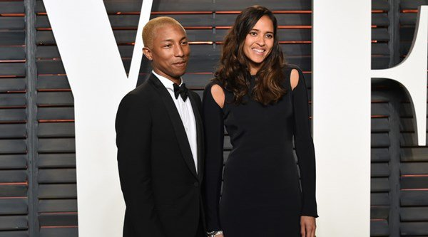 Pharrell and wife happy to be expecting again