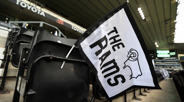 This half-time show at Derby County is probably the best you will ever see